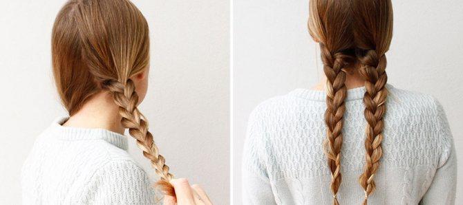 две простые косы