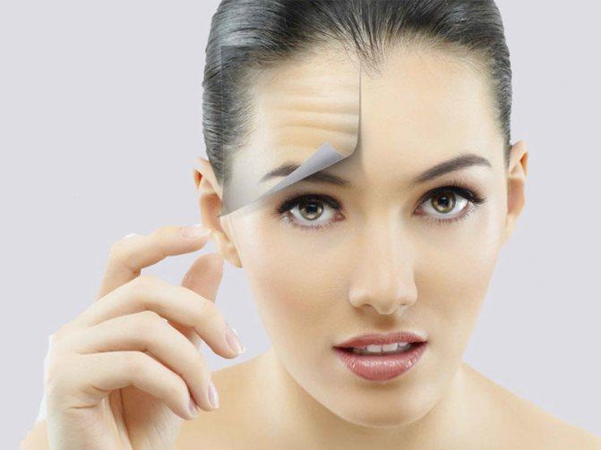 Дышащая и увлажненная кожа не предрасположена к появлению морщин