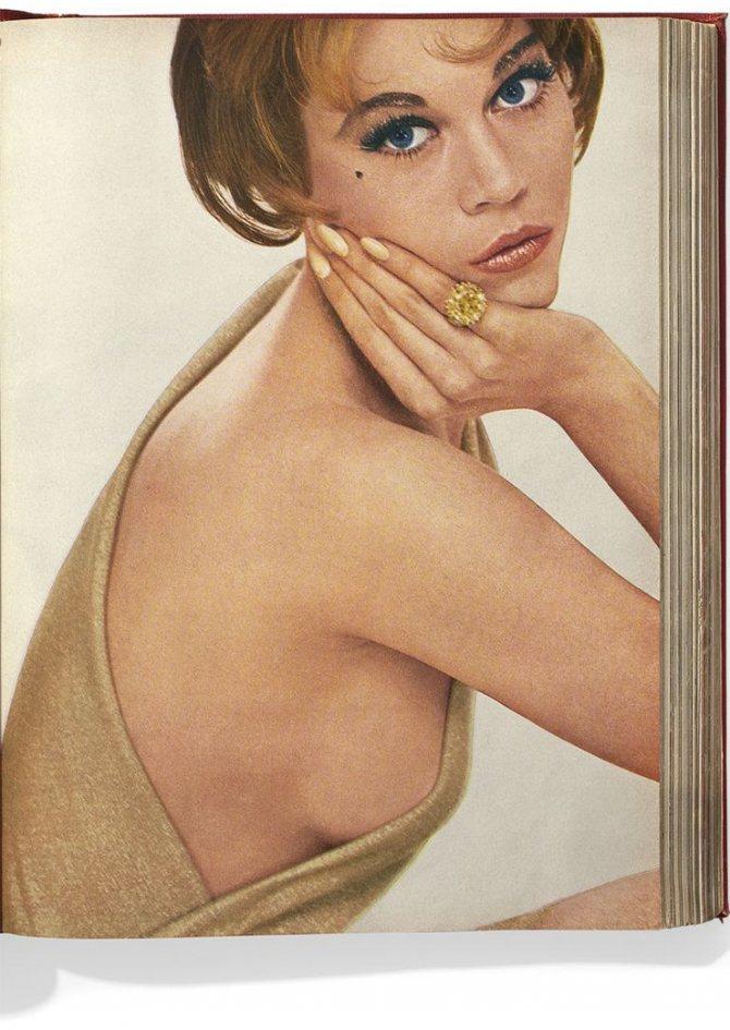 Джейн Фонда для Harper's Bazaar сентябрь1960