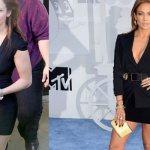 Дженифер Лопес до и после похудения