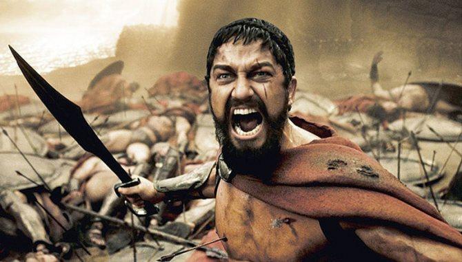 Джерард батлер 300 спартанцев