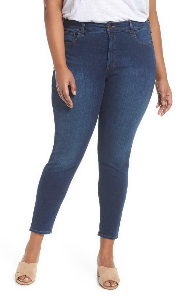джинсы с завышенной талией 2020