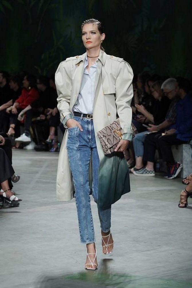 джинсы со швами впереди 2020
