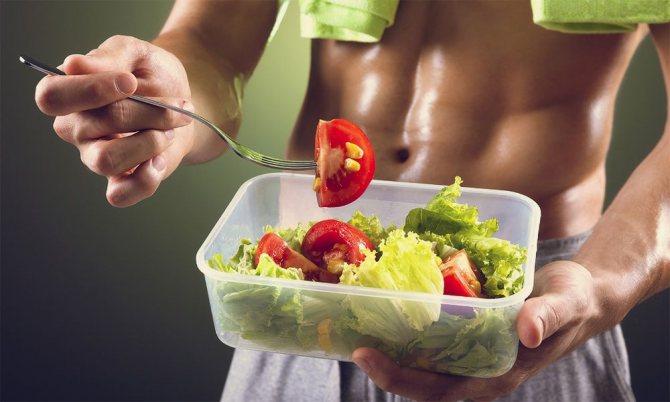 Еда после физических нагрузок