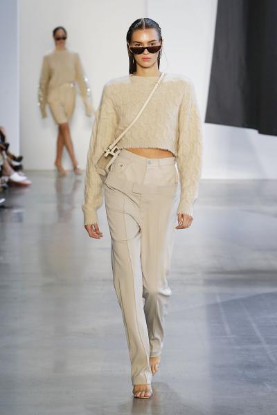 Эффект двойных брюк Sally LaPointe