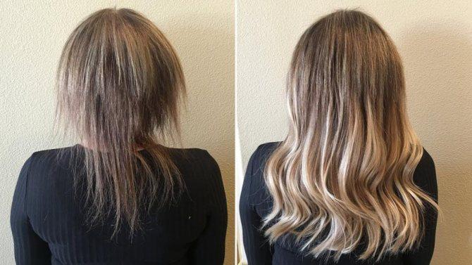 Эффект после дарсонвализации волос