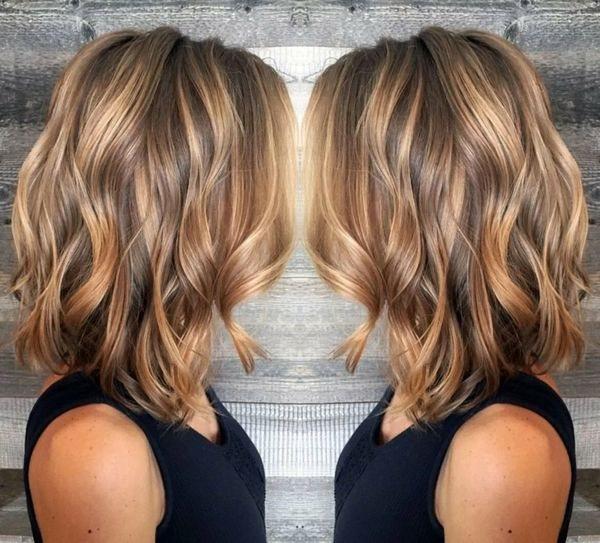 эффект выгоревших волос на боб