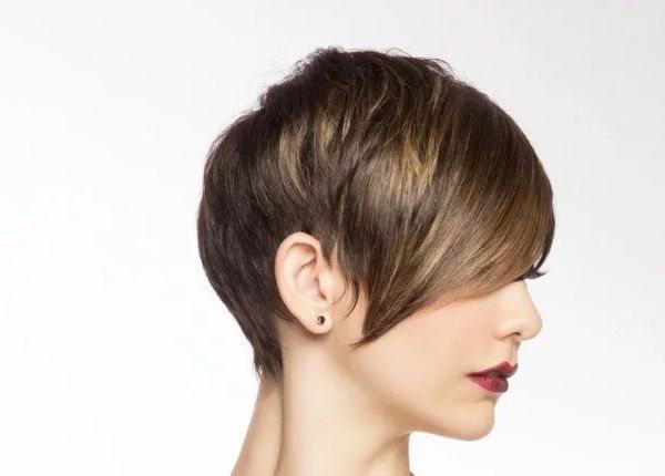 эффект выгоревших волос на короткие волосы