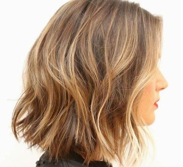 эффект выгоревших волос на короткие