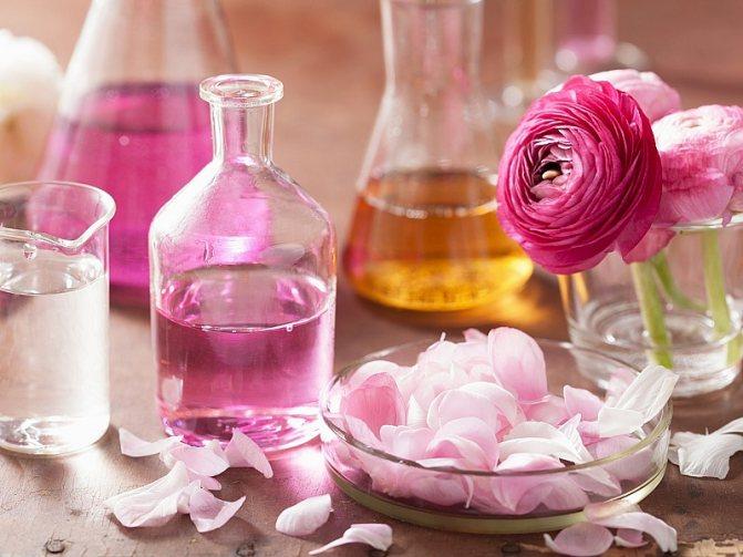 Эфирные масла для сна роза