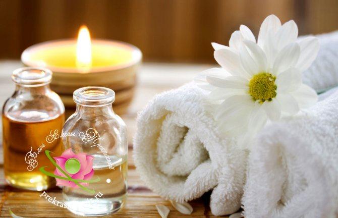 эфирные масла для ванн