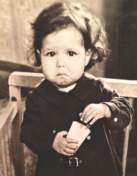 Екатерина Климова в детстве