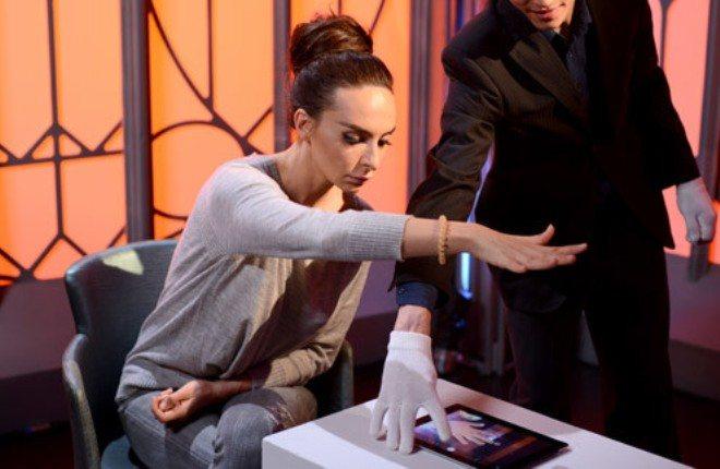 Екатерина Варнава в шоу «Человек-невидимка»