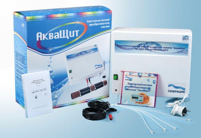 Электромагнитный фильтр для воды смягчающий воду