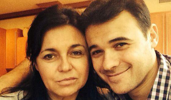 Эмин Агаларов с мамой