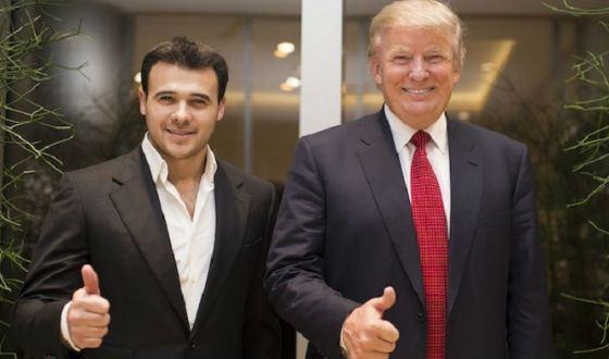 Эмин Агаларов знаком с Дональдом Трампом