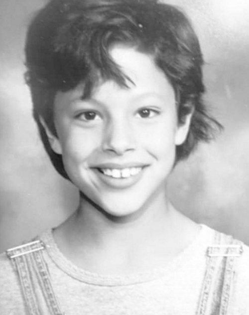 Эшли Грэм в детстве