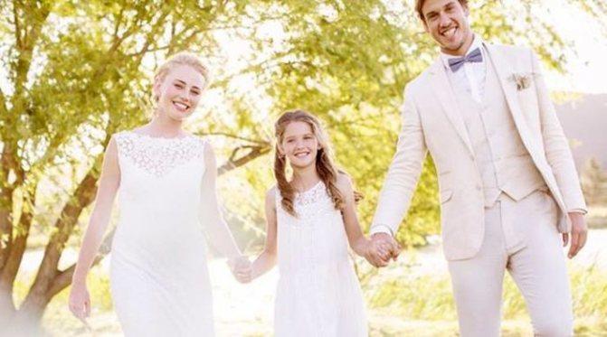Если мужчина и женщина действительно любят друг друга, ее ребенок не будет помехой их отношениям.