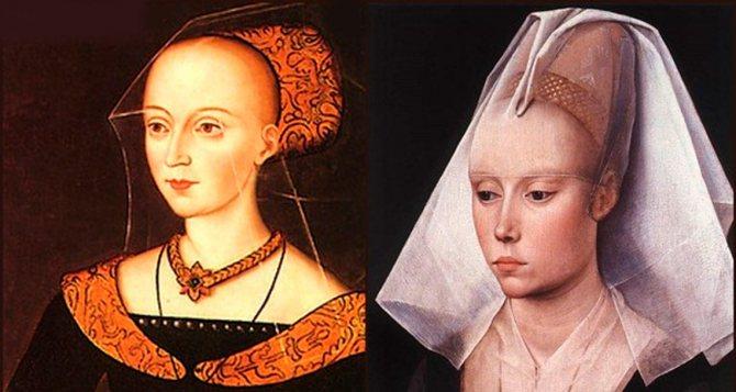 Эталоны женской красоты в Средневековье