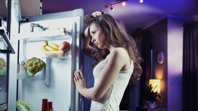Это проблема, если ночью съедаешь 25% суточного рациона