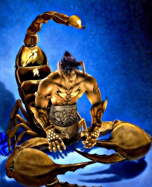 Этот влюбленный Скорпион-мужчина