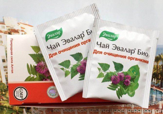 Эвалар БИО чай