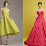 фасоны нарядных платьев