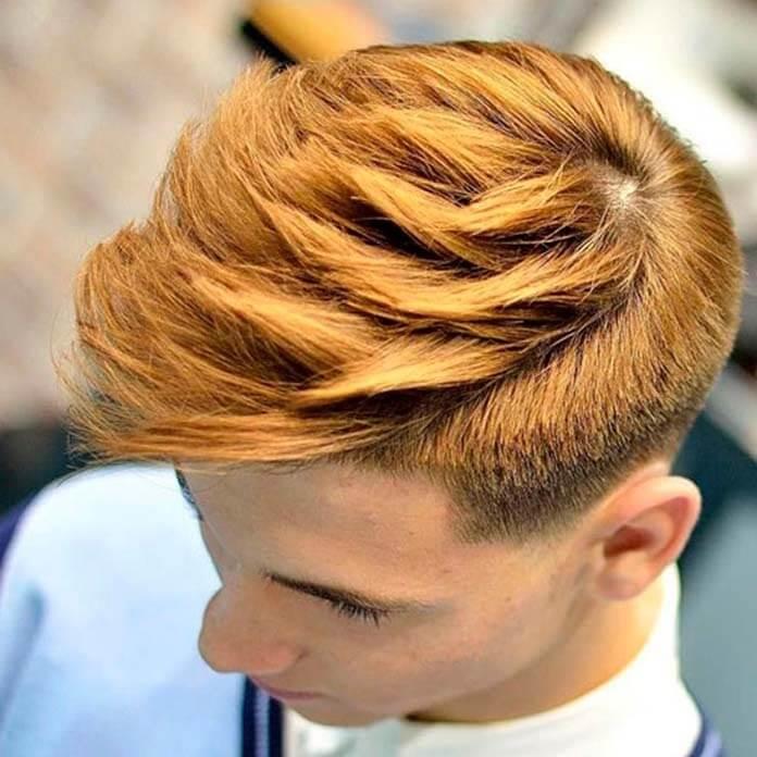 Фейд плюс текстурированные волосы