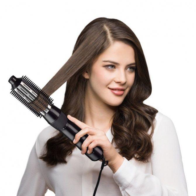 фен для волос для завивки