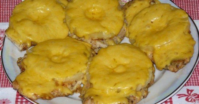 филе с ананасами