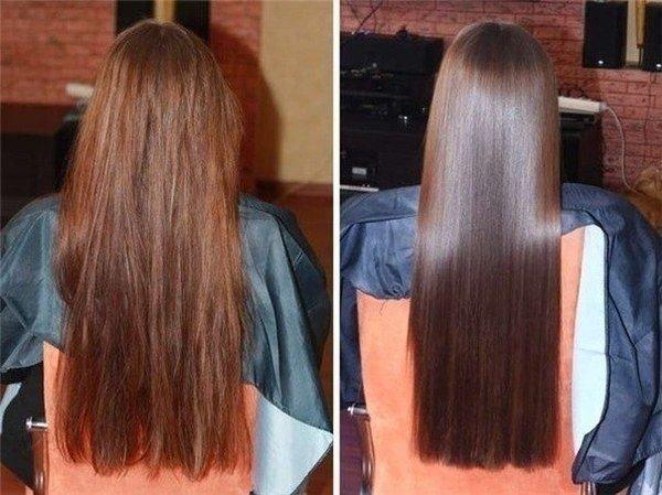 Филировка волос до и после_1