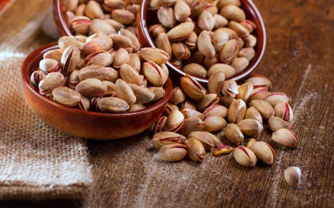 Фисташки в китае называют орехами счастья