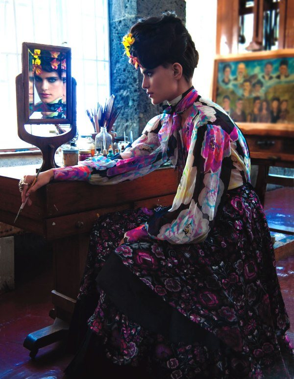 фольклорный стиль одежды для женщин