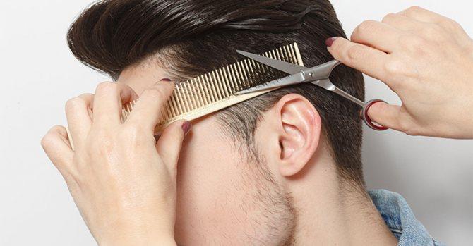 Популярные мужские причёски с треугольником сзади: фото модных вариантов, примеры звёзд