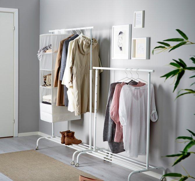Фото № 5: 15 практичных идей хранения вещей без громоздких шкафов