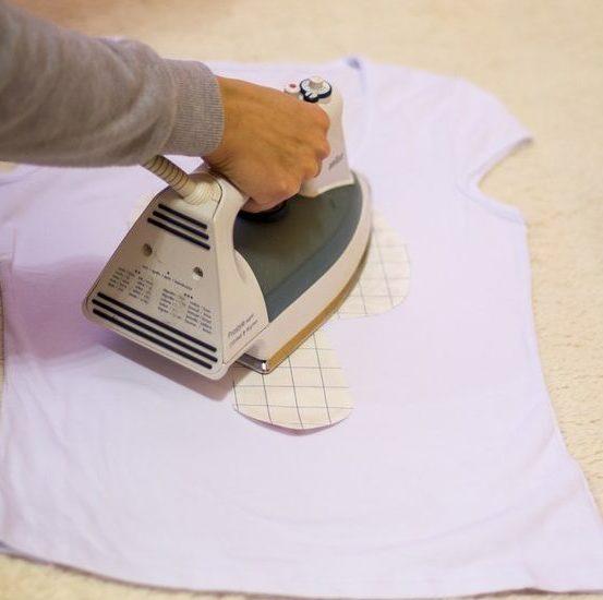 фото как нанести рисунок на футболку в домашних условиях