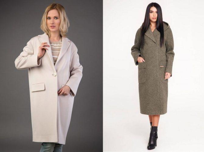 Фото - Какие бывают женские демисезонные пальто - Пальто-Кокон - Модные рекомендации