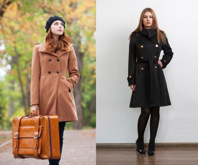 Фото - Какие бывают женские демисезонные пальто - Поло - Модные рекомендации