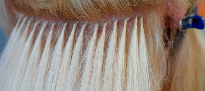 фото капсульное наращивание волос