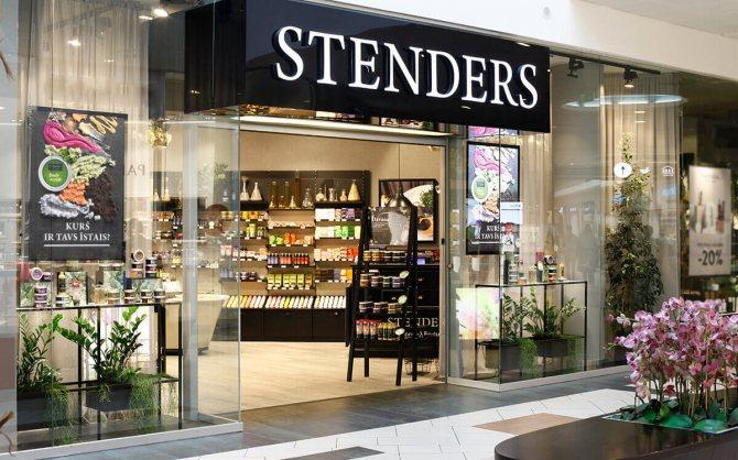 Фото магазина STENDERS