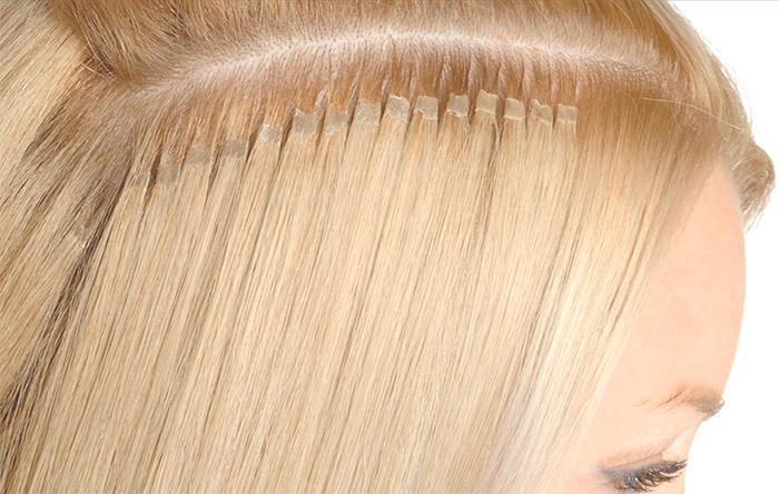 фото наращивание волос капсульное