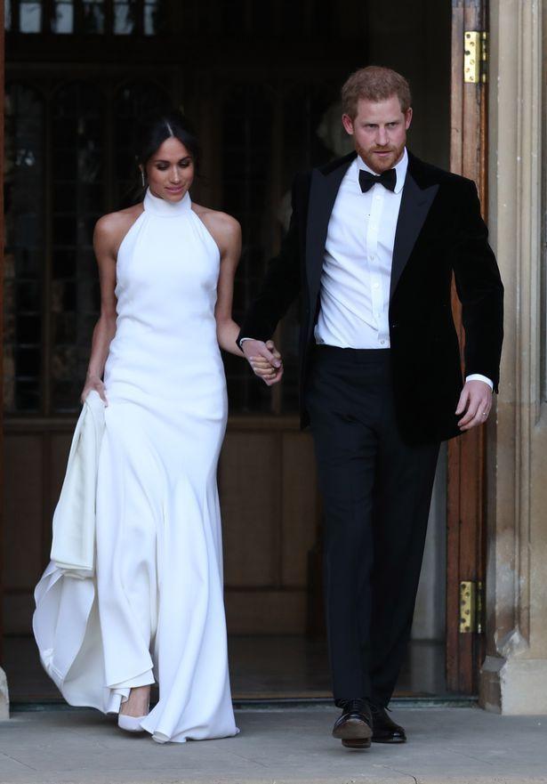Фото платьев Меган Маркл для свадебной вечеринки