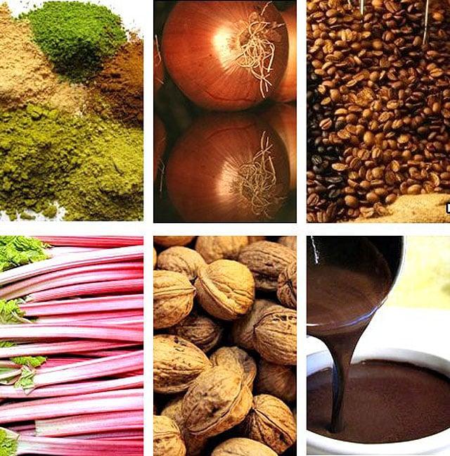 Фото природных компонентов для осветления волос