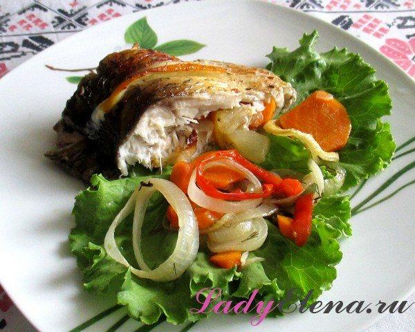Фото рецепт рыбы в духовке