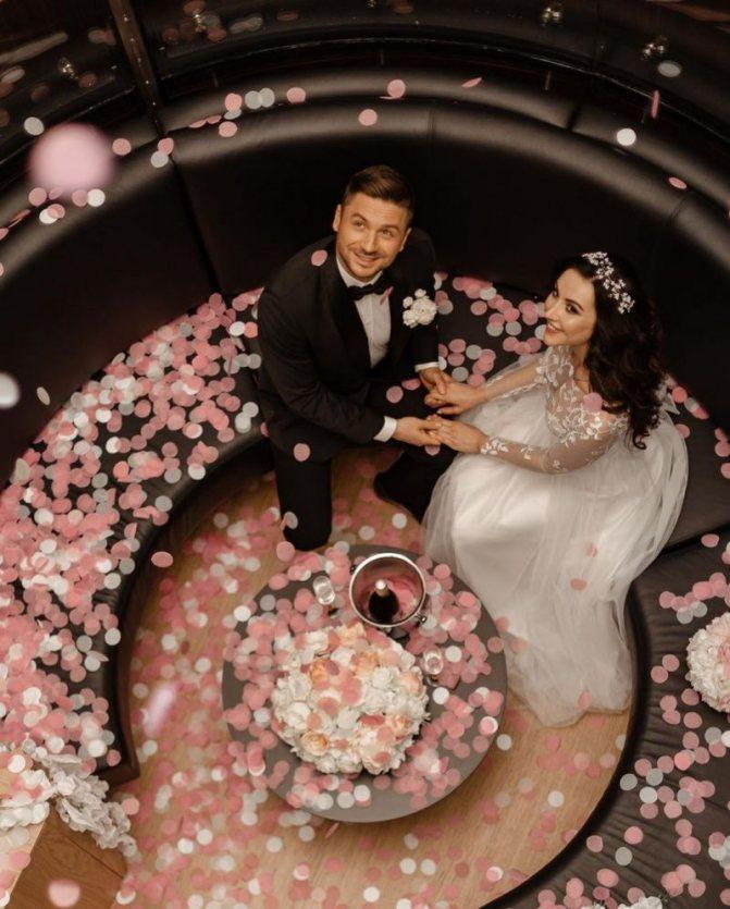 Фото свадьбы Сергея Лазарева от 13 июня 2019 года