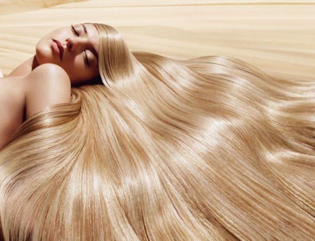 Фото волос после процедуры ламинирования