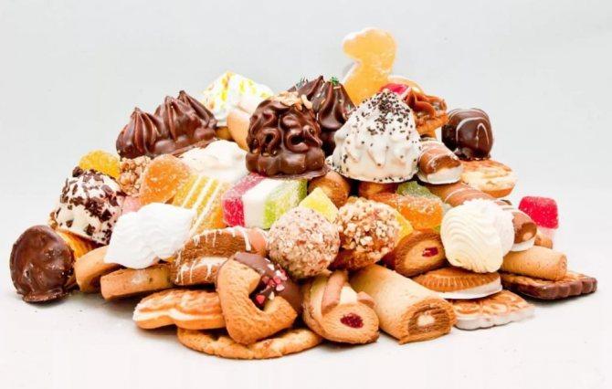 Фото: Вред сладкого для организма. Сладости