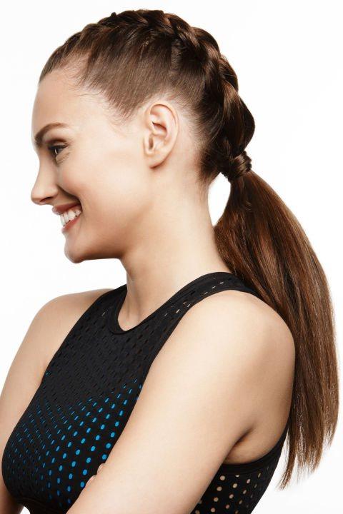 французская коса - фото