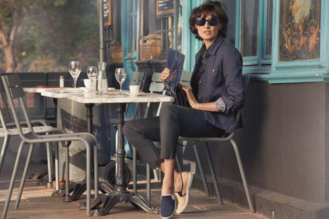 Французский парижский шик в одежде - образ без каблуков