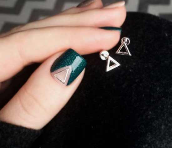 Френч с треугольником